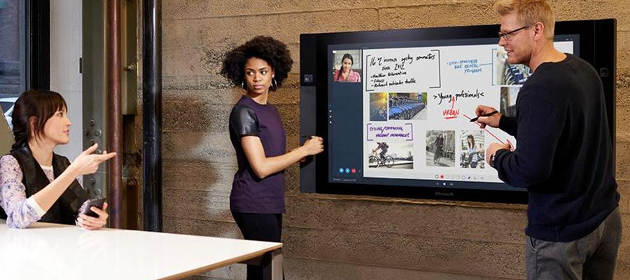 tableaux interactifs tactiles