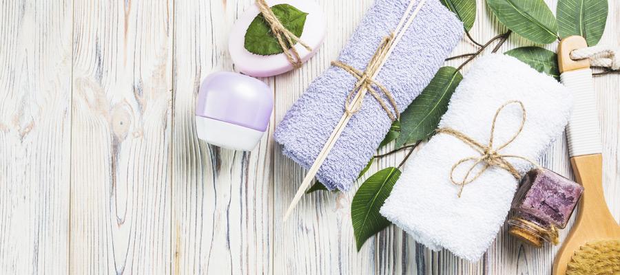 serviettes de bain haut de gamme