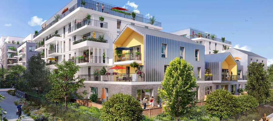 logements neufs dans l'Ouest de la France