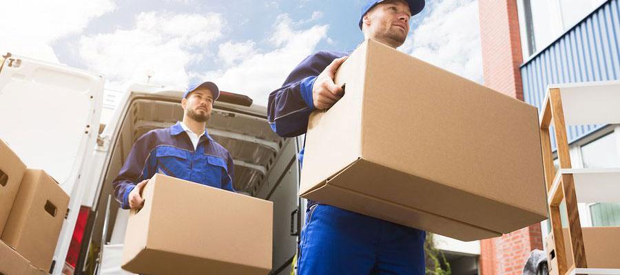 services d'un déménageur