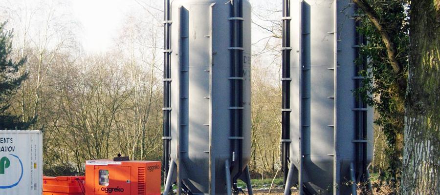 Unités mobiles de traitement des eaux