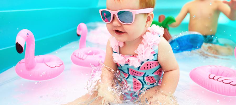 Maillot de bain pour enfant fille